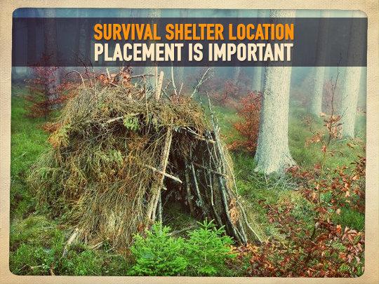 Shtf Shelter: Survival-Shelter-Location