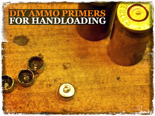 DIY Ammo Primers for Handloading