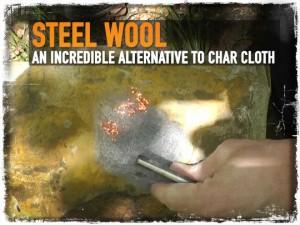 Steel Wool Fire Starter