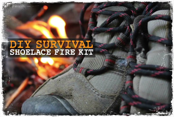 Firecord Shoelace Fire Kit