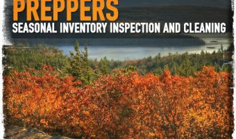 Preppers: Seasonal Inventory Inspection and Cleaning