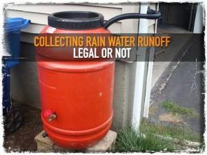 Rain Water Collection