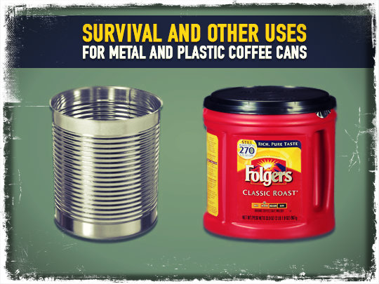 Plastic And Metal Cans