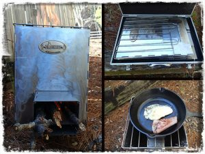 Stovehinge Collapsible Rocket Stove
