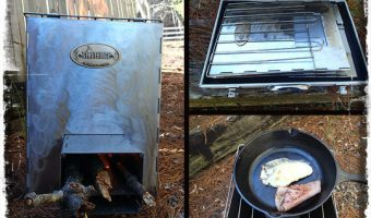 Stovehinge: The Collapsible Rocket Stove