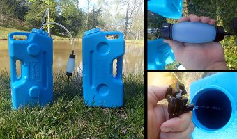 AquaBrick Water Filtration System