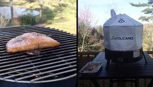Volcano Grill 3 Smoked Salmon