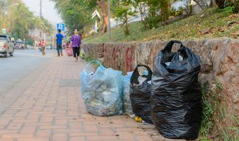 Garbage on Street