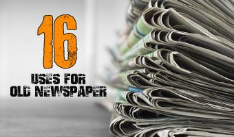 16 Uses for Old Newspaper