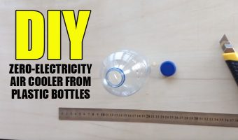 DIY Zero-Electricity Air Cooler From Plastic Bottles