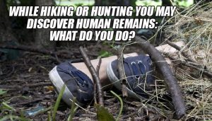 Hiking Discover Human Remains