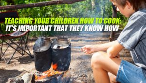 Children Open Flame Cooking