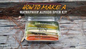 Waterproof Altoids Tin Spice Kit