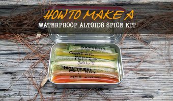 Waterproof Altoids Tin Spice Kit