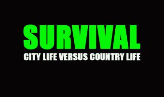 Survival City vs Country