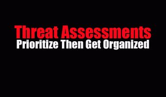 Threat Assessments: Prioritize Then Get Organized