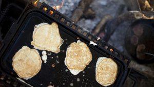 campfire pancakes