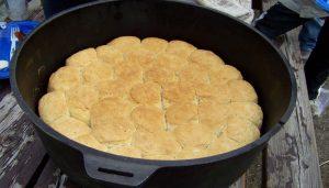 Dutch Oven Biscuits