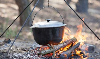 Dutch oven Cooking: Off Grid but Eating Good