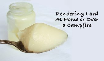 Rendering Lard At Home or Over a Campfire